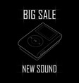big sale of mp3 players vector image
