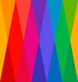 Harlequin Colorful Seamless Pattern vector image vector image