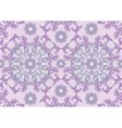 Background with pastel purple floral ornament vector image