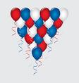 balloons air design vector image vector image