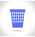 basket icon Eps10 vector image