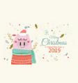 creative hand drawn card holidays warm wishes vector image