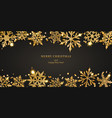 background shiny snowflakes vector image