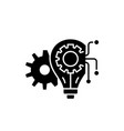 engineering system black icon sign on vector image vector image