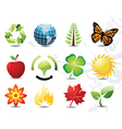 Environmental icons vector image vector image