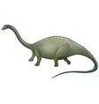 herbivorous dinosaur vector image