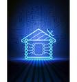 home automation concept vector image vector image