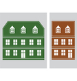 house icon5 vector image vector image