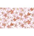luxury elegant floral seamless pattern vector image vector image