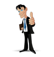 success businessman vector image vector image