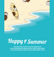 summer holiday concept night party vector image vector image