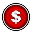 Us dollar icon vector image