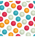 abstract colored seamless geometric pattern vector image