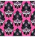 Abstract damask seamless vector image