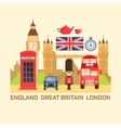 Great Britain and London vector image