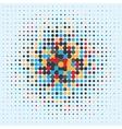 halftone vector image vector image