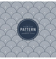 japanese seamless round pattern traditional vector image vector image