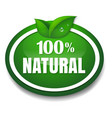 nature tag vector image vector image