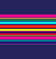 seamless colorful lines background multicolor vector image vector image
