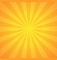 sunburst background design vector image