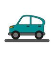 car flat vector image vector image