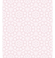Lace on the pink vector image vector image