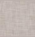 natural linen seamless pattern texture beige brown vector image