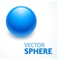 sphere abstract with text vector image vector image