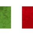 True proportions Italy flag with texture vector image vector image
