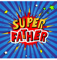 Father Day Background vector image