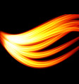 abstract l flame background vector image vector image