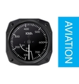Airspeed indicator vector image vector image