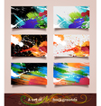 Art backgrounds vector image vector image