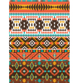 Aztec colorful geometric seamless pattern