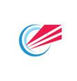 business development concept logo design abstract vector image vector image