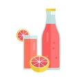 Cold Summer Drink Concept vector image vector image