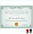 Detailed certificate vector | Price: 1 Credit (USD $1)