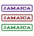 jamaica watermark stamp vector image
