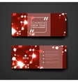 Set of modern design banner template in Chinese vector image