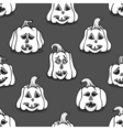 Textured pumpkins vector image