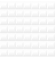 White decorative texture - seamless background vector image vector image