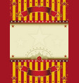 background circus vector image vector image