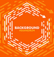 bright abstract orange background with header vector image