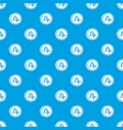 coin drachma pattern seamless blue vector image vector image