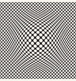 halftone bloat effect optical abstract vector image vector image