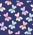 simple floral pattern for seamless background vector image vector image