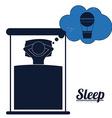 Sleep design vector image vector image
