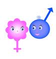 symbols sex vector image