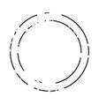 thin circle frame vector image vector image