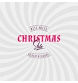 Christmas sale insignia and labels for any use vector image